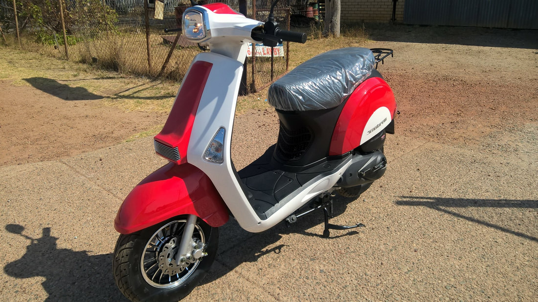 MotoRR Revival scooter